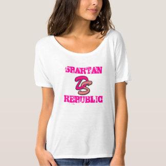 República do sistema de alimentação de originais camisetas