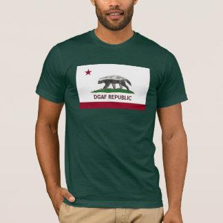 República do texugo de mel DGAF Califórnia!!!!! Camiseta