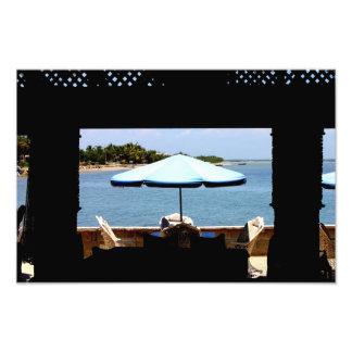 República Dominicana de Montecristi do restaurante Impressão De Foto