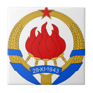 República federal socialista do emblema de