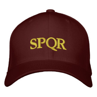 República romana SPQR Boné
