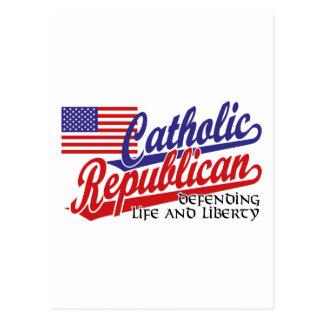 Republicano católico cartao postal