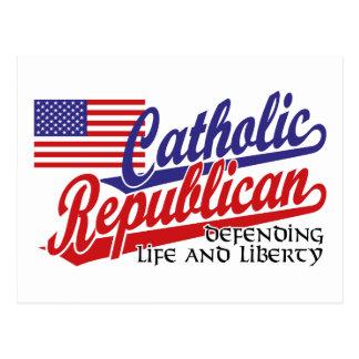 Republicano católico cartões postais