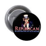 Republicano, não no bem-estar boton