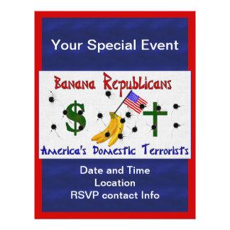 Republicanos da banana panfletos