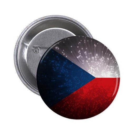 Republika de Česká; Bandeira checa Botons