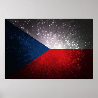 Republika de Česká; Bandeira checa Poster