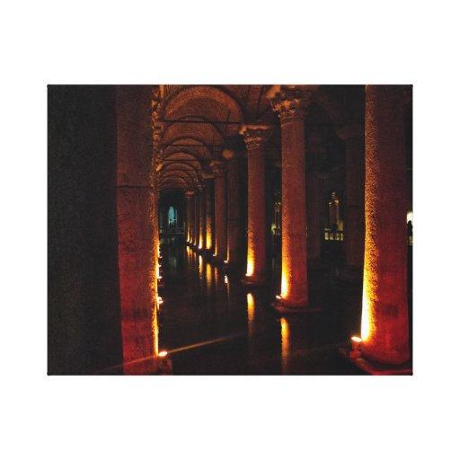 Reservatório 3 da basílica impressão de canvas esticadas