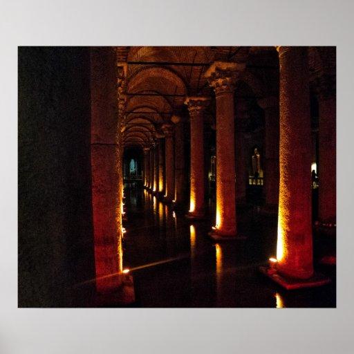 Reservatório 3 da basílica impressão