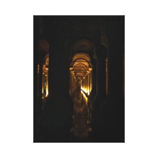 Reservatório da basílica impressão em canvas