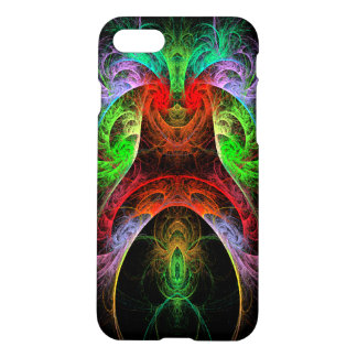 Resíduo metálico da arte abstracta de Carnaval Capa iPhone 7