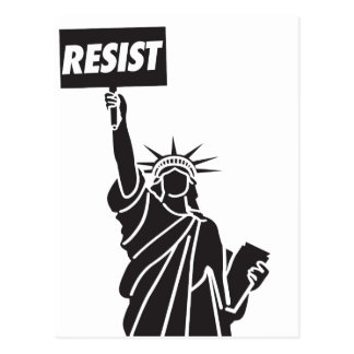 Resist_for_Liberty Cartão Postal