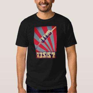 Resista a camisa da propaganda tshirts