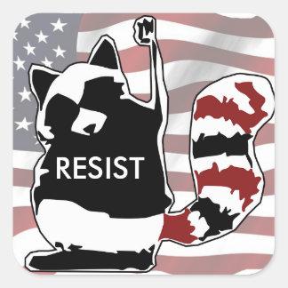 Resista etiquetas da bandeira americana do
