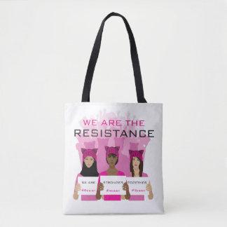 RESISTA - nós somos a resistência - chapéus Bolsa Tote