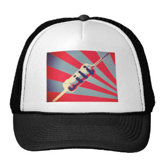 Resista o chapéu da propaganda bone
