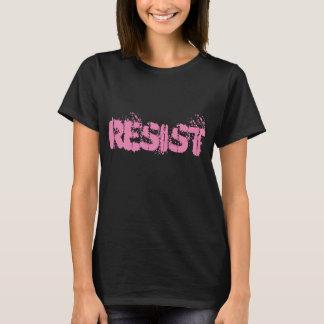 Resista o t-shirt - camisa da resistência - preto