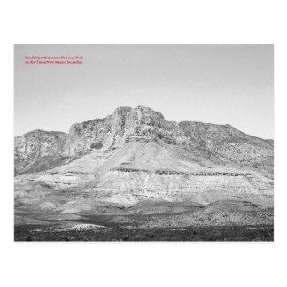 Resistência do parque nacional das montanhas de cartão postal
