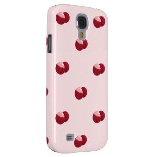 resistente vívido do teste padrão HTC dos lychees Galaxy S4 Cases