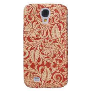Resistente vívido floral do vermelho HTC do Galaxy S4 Cases
