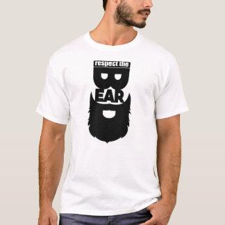 respeite a barba camiseta