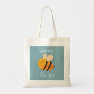 Respeite o bolsa da abelha