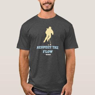 Respeite o fluxo camiseta