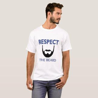 Respeite o t-shirt legal do design do homem da camiseta