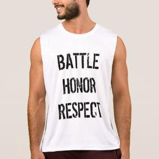 Respeito da honra de batalha regata