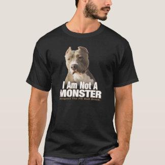 Respeito do pitbull camiseta