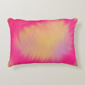 Respingo cor-de-rosa do verão almofada decorativa