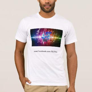 Respingo da música do logotipo do Tshirt de S2JVox Camiseta