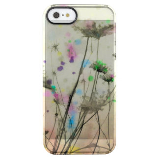 Respingo da natureza do prado capa para iPhone SE/5/5s clear