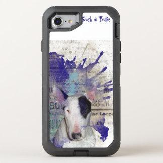 Respingo da notícia de bull terrier capa para iPhone 7 OtterBox defender
