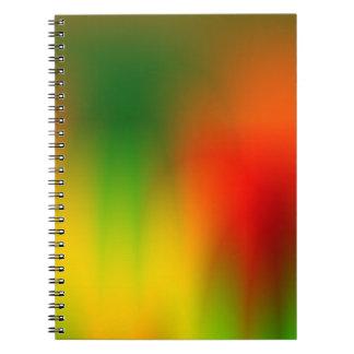 Respingo de Rasta da cor Cadernos