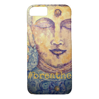 Respire capas de iphone da arte de Buddha do zen