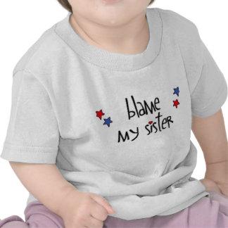 responsabilize minha irmã 2008 tshirt