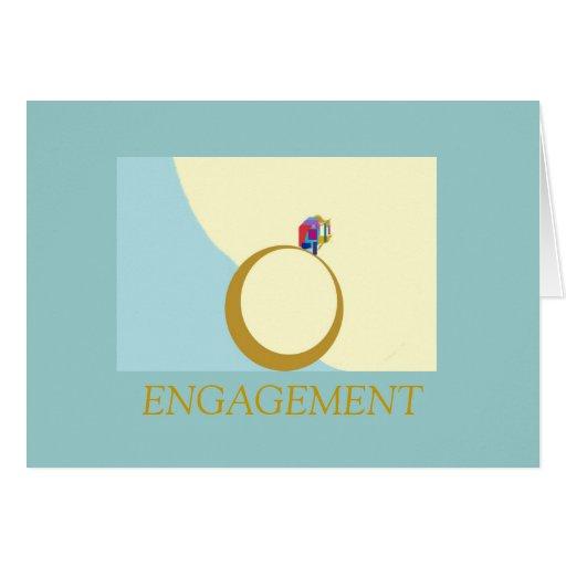Resposta do cartão do noivado de Elegant>