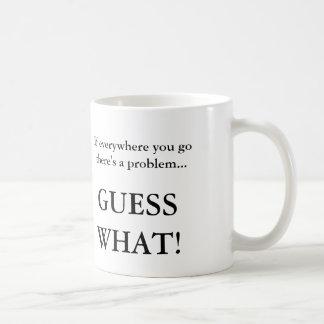 Resposta sarcástica às pessoas irritantes caneca de café