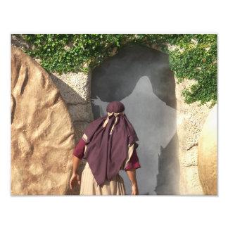 Ressurreição do túmulo vazio de Jesus da foto do Impressão De Foto