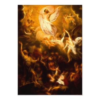 Ressurreição incrível de Jesus Convite 12.7 X 17.78cm
