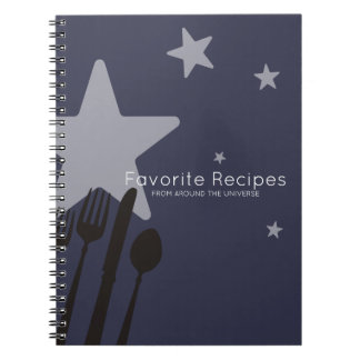 Restauração do cozinheiro chefe do cozinhar da caderno