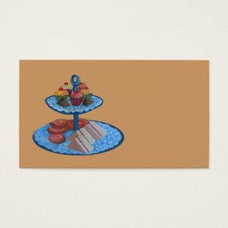 Restauração ou café cartão de visitas