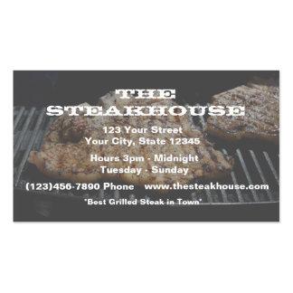 Restaurante (feito sob encomenda) - foto w/transpa cartão de visita