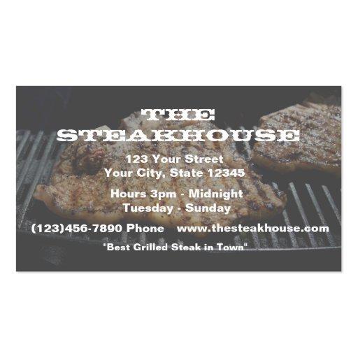 Restaurante (feito sob encomenda) - foto w/transpa cartões de visitas