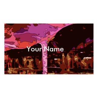 Restaurante Sparkling de cinco estrelas em Vegas Modelos Cartão De Visita