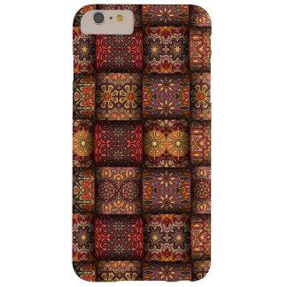 Retalhos do vintage com elementos florais da capas iPhone 6 plus barely there