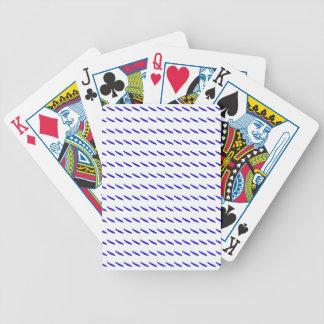 Retarde o pimentão do azul do movimento baralhos de cartas