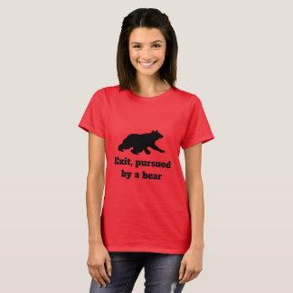 Retire, levado a cabo por um urso - camisa de
