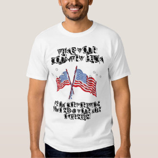 Retire seu país camiseta